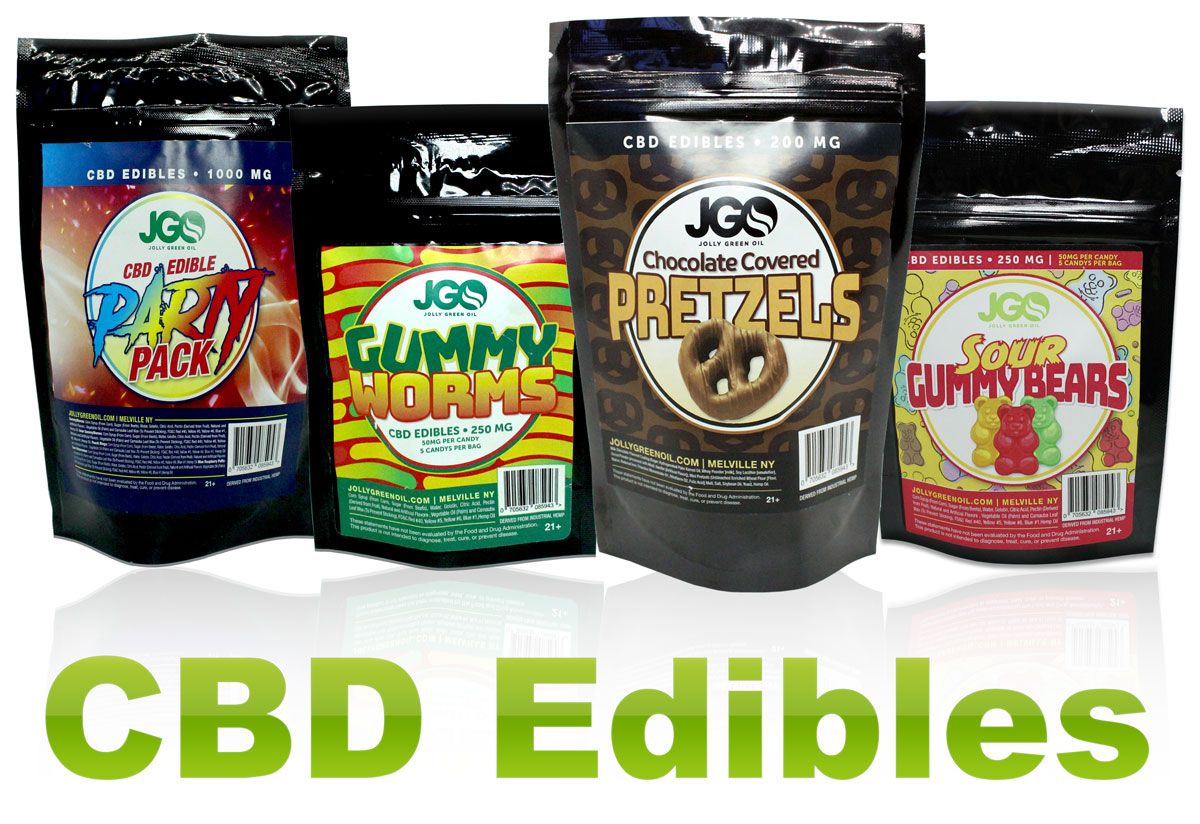 CBD Edible Gummies, Pretzels, Bundles And More
